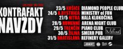 Kontrafakt Navždy Tour 2014