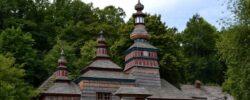 Skanzeny, drevené kostolíky